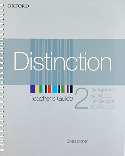 9780194624121: Distinction 2: Teacher's Guide Spanish Ed