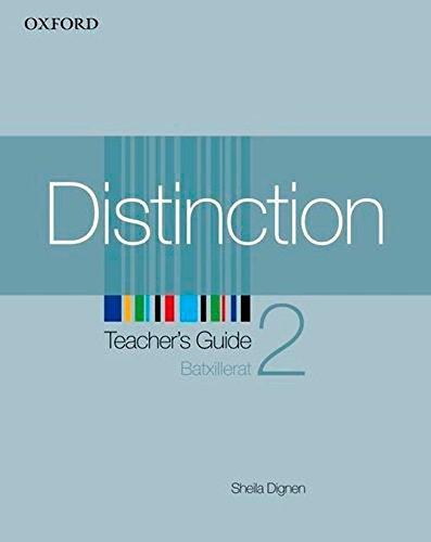 9780194624138: Distinction 2: Teacher's Guide (Catalán Edition)
