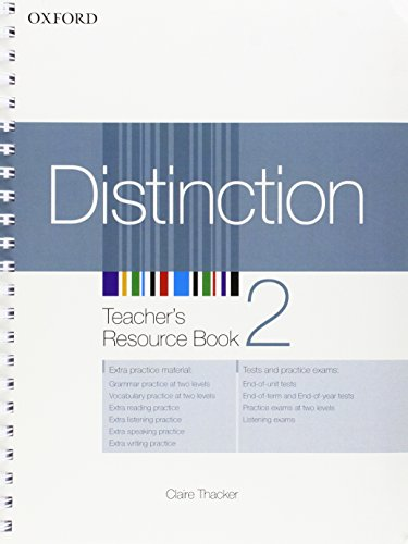 9780194624145: Distinction 2: Teacher's Resource Book