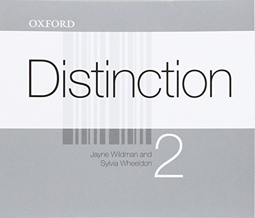 9780194624152: Distinction 2: CD(4)