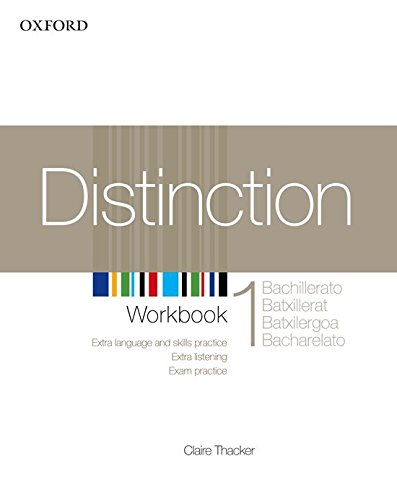 9780194624169: Distinction 1 wb spanish ed