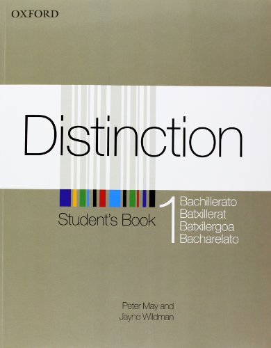 9780194624305: (12).DISTINCTION 1.ST + ORAL SKILLS (BACHILLERATO)