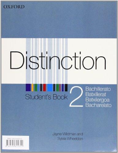 9780194624312: Distinction, 2º Bachillerato