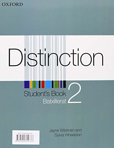 9780194624336: Distinction 2: Student's Book with Oral Skills Companion (Catalan)