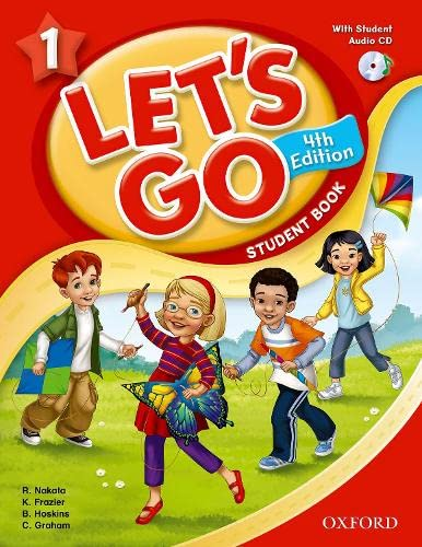 9780194626187: Let's Go 1 Student Book with Audio CD: Language Level: Beginning to High Intermediate. Interest Level: Grades K-6. Approx. Reading Level: K-4