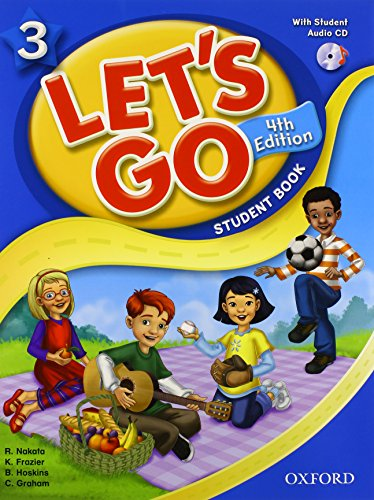 9780194626200: Let's Go 3 Student Book with CD: Language Level: Beginning to High Intermediate. Interest Level: Grades K-6. Approx. Reading Level: K-4 (Let's Go (Oxford))