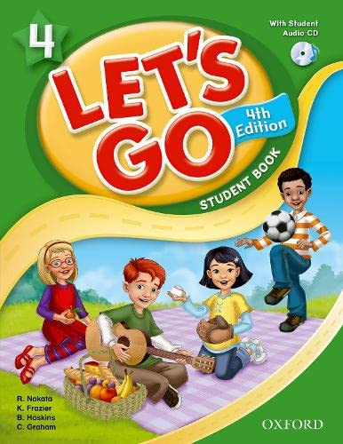 9780194626217: Let's Go: 4: Student Book With Audio CD Pack