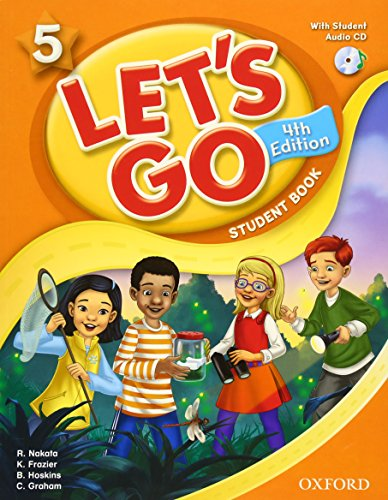 9780194626224: Let's Go 5 Student Book with Audio CD: Language Level: Beginning to High Intermediate. Interest Level: Grades K-6. Approx. Reading Level: K-4