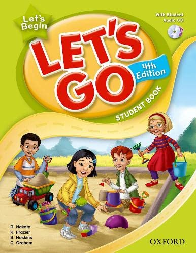 9780194626248: Let's Go, Let's Begin Student Book with CD: Language Level: Beginning to High Intermediate. Interest Level: Grades K-6. Approx. Reading Level: K-4