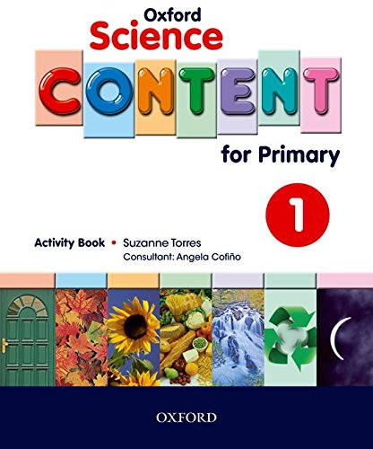 9780194637008: Science Content 1st Primary Activity Book