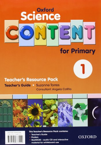 9780194637022: Science Content 1st Primary. Pack (Teacher's Resource)