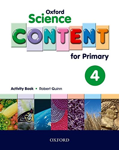 9780194637152: Science Content 4th Primary Activity Book