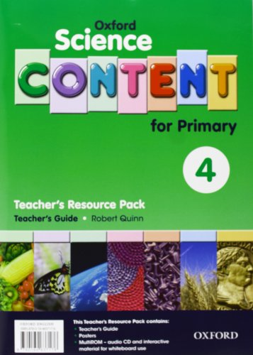 9780194637176: Science Content 4th Primary. Pack (Teacher's Resource)