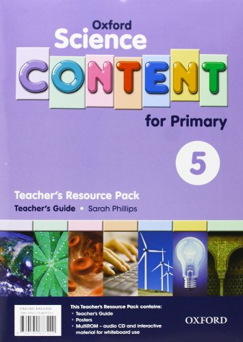 9780194637220: Science Content 5th Primary. Pack (Teacher's Resource)