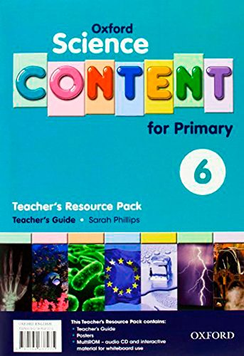 9780194637275: Science Content 6th Primary. Pack (Teacher's Resource)