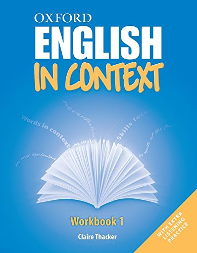 9780194640060: In Context 1: Workbook (English In Context)