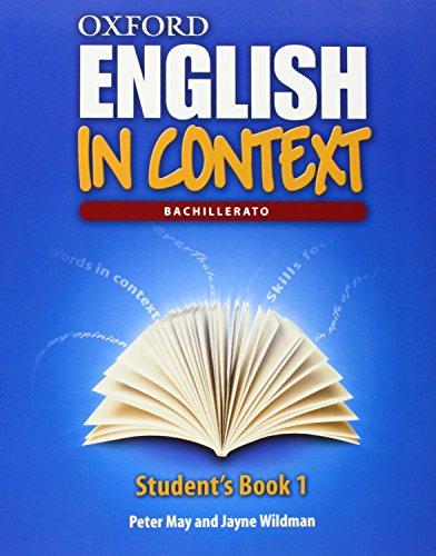 9780194640282: ENGLISH IN CONTEXT 1 SB +CD ED.13 Oxford