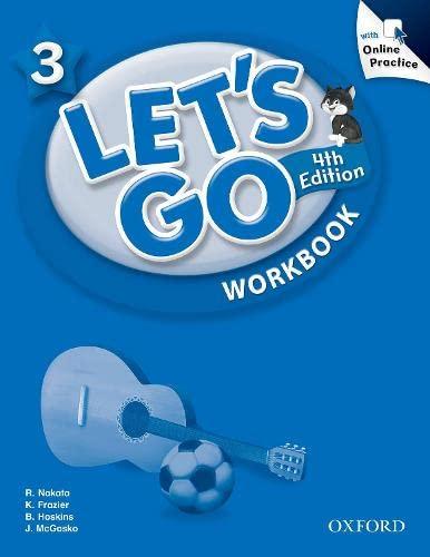 Let's Go: 3: Workbook with Online Practice Pack: Graham Carolyn