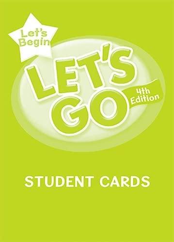 9780194641012: Let's Begin: Student Cards