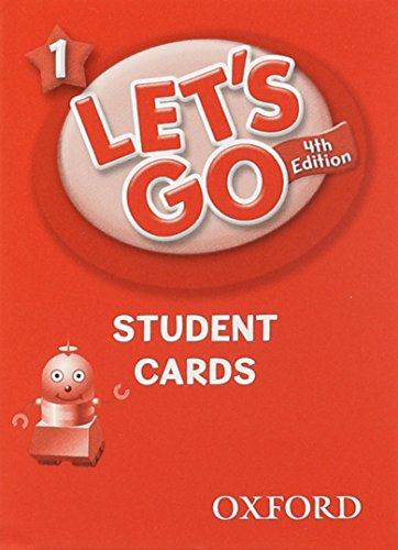9780194641029: Let's Go 1 Student Cards: Language Level: Beginning to High Intermediate. Interest Level: Grades K-6. Approx. Reading Level: K-4