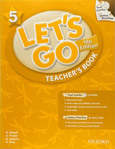 9780194641524: Let's Go: 5: Teacher's Book With Test Center Pack