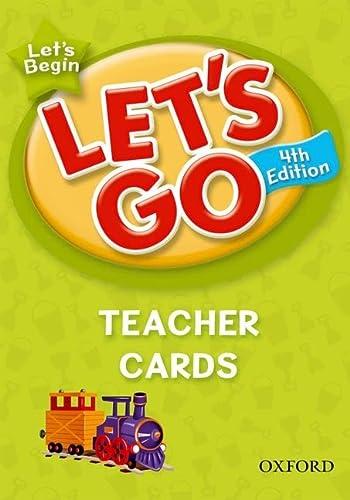 9780194641548: Let's Go, Let's Begin Teacher Cards: Language Level: Beginning to High Intermediate. Interest Level: Grades K-6. Approx. Reading Level: K-4