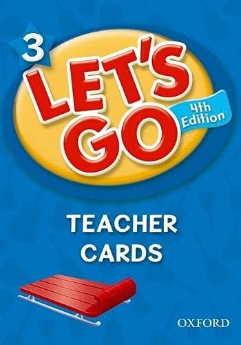 9780194641579: Let's Go 3 Teacher Cards: Language Level: Beginning to High Intermediate. Interest Level: Grades K-6. Approx. Reading Level: K-4