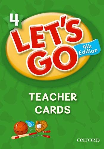 Let's Go 4 Teacher Cards: Language Level: Beginning to High Intermediate. Interest Level: Grades K-6. Approx. Reading Level: K-4 (0194641589) by Ritzuko Nakata; Karen Frazier; Barbara Hoskins