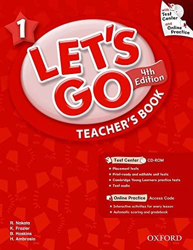Let's Go 1 Teacher's Book with Test: Ritzuko Nakata; Karen