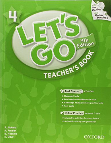 9780194641982: Let's Go: 4: Teacher's Book With Test Center Pack