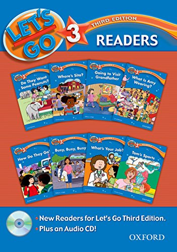 9780194642200: Let's Go 3 Readers Pack: with Audio CD (Let's Go Third Edition)