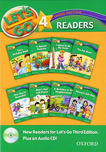 Let's Go 4 Readers Pack [With CD: Hoskins, Barbara