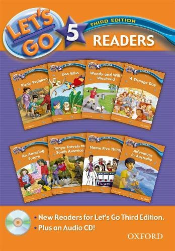 9780194642408: Let's Go 5 Readers Pack: with Audio CD (Let's Go Third Edition)