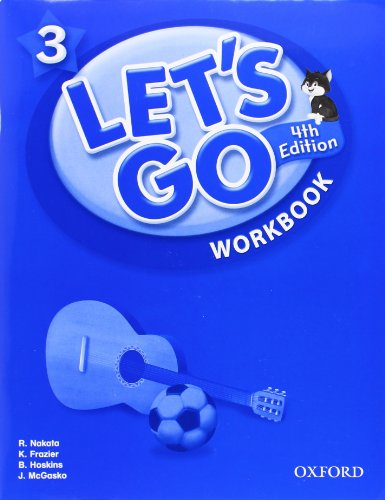 Lets Go 3 Workbook: Language Level: Beginning: Nakata, Ritzuko