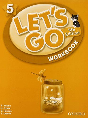 9780194643245: Let's Go 5 Workbook: Language Level: Beginning to High Intermediate. Interest Level: Grades K-6. Approx. Reading Level: K-4 (Let's Go (Oxford))