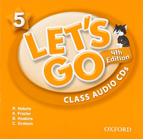 9780194643405: Let's Go 5 Class Audio CDs: Language Level: Beginning to High Intermediate. Interest Level: Grades K-6. Approx. Reading Level: K-4
