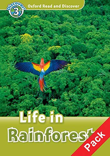 9780194644204: Oxford Read and Discover: Level 3: Life in Rainforests Audio CD Pack