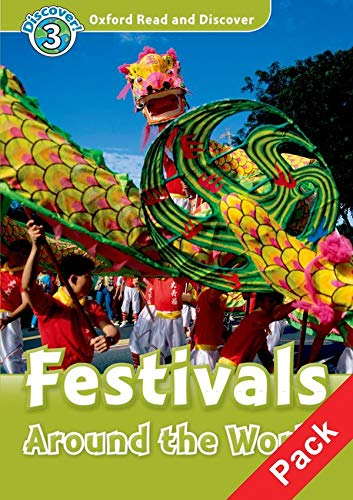 9780194644228: Oxford Read and Discover: Level 3: Festivals Around the World Audio CD Pack