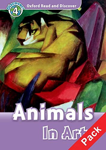 9780194644839: Oxford Read and Discover: Level 4: Animals in Art Audio CD Pack