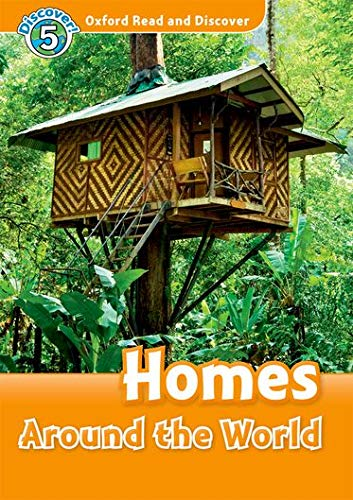 9780194645379: Oxford Read and Discover: Level 5: 900-Word Vocabulary Homes Around the World Audio CD Pack (Oxford Read and Discover: Discover!)