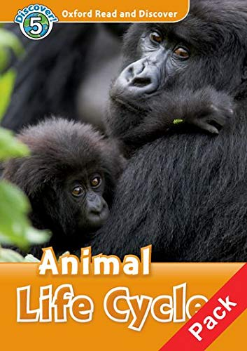 9780194645423: Oxford Read and Discover: Level 5: Animal Life Cycles Audio CD Pack