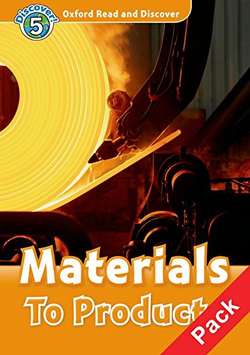 9780194645454: Oxford Read and Discover: Level 5: Materials To Products Audio CD Pack