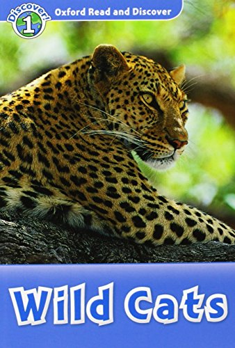 9780194646451: Oxford Read and Discover: Oxford Read & Discover. Level 1. Wild Cats: Audio CD Pack