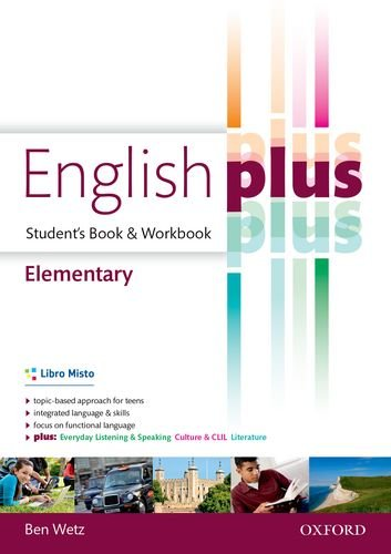 9780194648424: English plus. Elementary. Student's book-Workbook. Per le Scuole superiori. Con e-book. Con espansione online