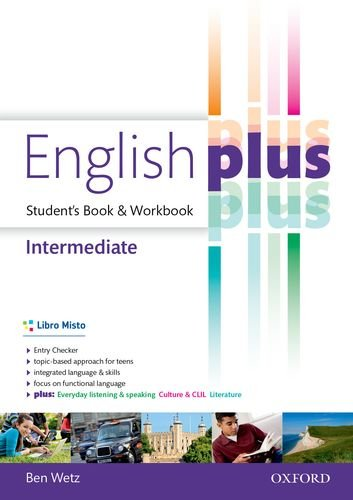 9780194648462: English plus. Intermediate. Entry checker-Student's book-Workbook. Per le Scuole superiori. Con e-book. Con espansione online