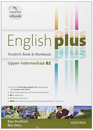 9780194649674: English Plus Upper Intermediate B2 Student's Book & Workbook