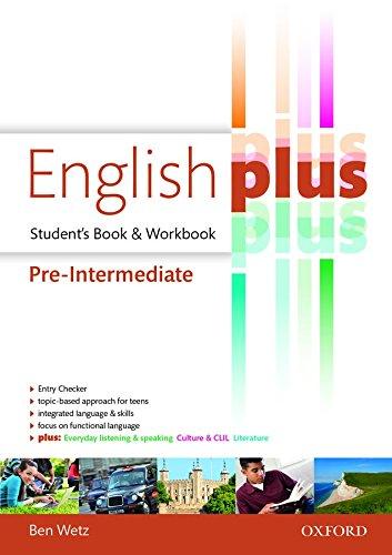 9780194649872: English plus pre-intermediate: premium 2.0. Student book-Workbook. Con e-book. Con espansione online. Per le Scuole superiori