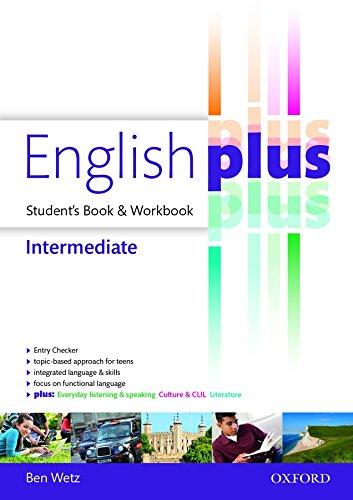 9780194649896: English plus intermediate: premium 2.0. Student book-Workbook. Per le Scuole superiori. Con e-book. Con espansione online