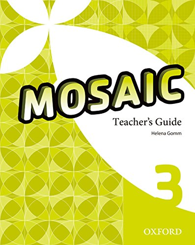 9780194652124: (TCHS).(14).MOSAIC 3ºESO TEACHER GUIDE+CD