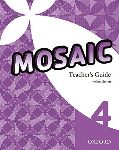 9780194652131: (TCHS).(13).MOSAIC 4 TEACHER RESOURCE +CD